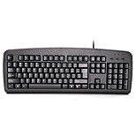 A4TECH KB-8 Wired  Keyboard USB/PS2 104 Keys Spill-Resistant with 180cm Cable