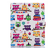 cheap -Case For Apple iPad Air 2 iPad mini 4 Card Holder Wallet with Stand Full Body Owl Hard PU Leather for iPad Pro 9.7'' iPad Air 2 iPad Air