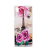 cheap -Case For Sony Xperia XZ1 Xperia XA1 Ultra-thin Pattern Back Cover Flower Eiffel Tower Soft TPU for Xperia XZ1 Compact Sony Xperia XZ1