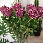 Недорогие -1 Филиал Другое Розы Букеты на стол Искусственные Цветы