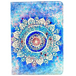 Case For Apple iPad Air 2 iPad 10.5 iPad mini 4 iPad (2017) with Stand Pattern Auto Sleep/Wake Up Full Body Mandala Hard PU Leather for