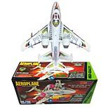 Недорогие -Игрушечные самолеты Наборы для моделирования Самолёт Игрушки Летательный аппарат Прогулки Электрический Мягкие пластиковые Мальчики 1