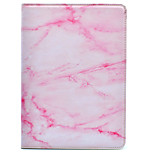 cheap -Case For Apple iPad Air 2 iPad 10.5 iPad mini 4 iPad (2017) with Stand Pattern Auto Sleep/Wake Up Full Body Marble Hard PU Leather for