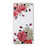 cheap -Case For Huawei P8 Lite (2017) P10 Lite IMD Pattern Back Cover Flower Glitter Shine Soft TPU for P10 Lite P8 Lite (2017)