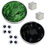 Магнитный пластилин Магнитная игрушка Магнитные игрушки Мышление 2 Куски Игрушки Сделай-сам Магнитный тип Стресс и тревога помощи Товары