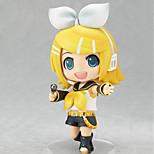 Недорогие -аниме фигуры, вдохновленные вокалоид kagamine rin pvc cm модель игрушки куклы игрушка