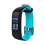 HHY new smart Bluetooth Bracelet P1 plus heart rate blood pressure sleep monitoring sports bracelet Android IOS colorful screenHHY New Smart Bluetooth