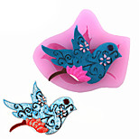 Magpie Bird Shape Fondant Cake Liquid Silicone Molds Biscuits Mould DIY Decorating Tools