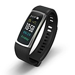 cheap -Smart Bracelet Bluetooth Calories Burned Touch Sensor APP Control Blood Pressure Measurement Pulse Tracker Pedometer Activity Tracker