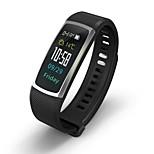 Недорогие -Смарт-браслет Bluetooth Израсходовано калорий Сенсорный датчик Измерение кровяного давления Контроль APP Импульсный трекер Педометр