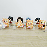Недорогие -аниме фигуры, вдохновленные himouto gaara pvc 6-8 cm модель игрушки куклы игрушка