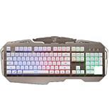 Недорогие -чеканка panther g600 проводная USB-клавиатура поддержка клавиатуры для подсветки водонепроницаемая