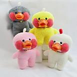 Недорогие -Мягкие игрушки Игрушки Утка Животные Животный принт Животные Животные Мягкость Мультфильм игрушки Декоративная Курица и цыпленок Дизайн