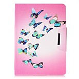 cheap -Case For Apple iPad Air 2 iPad mini 4 Card Holder Wallet with Stand Full Body Butterfly Hard PU Leather for iPad 9.7 (2017) iPad Air 2
