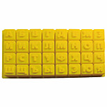 cheap -Russian Alphabet Letters Silicone Mold Jelly  Candy Pudding Chocolate Mould DIY Pastry Tools