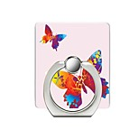 cheap -Butterfly Pattern Cell Phone Ring Stand Holder for Phone