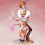 economico -anime action figure ispirate al vocaloid sakura miku pvc modello da 8-10 cm giocattolo bambola