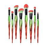 cheap -8 pcs Makeup Brush Set Blush Brush Eyeshadow Brush Lip Brush Powder Brush Foundation Brush Pony Synthetic Hair Eco-friendly Professional