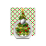 cheap -Christmas Tree Pattern Cell Phone Ring Stand Holder for Phone