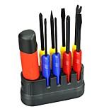 abordables -9 en 1 destornillador profesional de la reparación del hogar fijó el destornillador del pedazo herramientas portátiles del hardwares de la