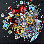 cheap -Nail Jewelry Rhinestones Assorted Color Nail Art Design