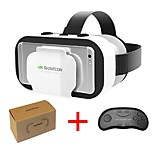 cheap -VR SHINECON 5.0 Glasses Virtual Reality VR Box 3D Glasses for 4.7 - 6.0 Inch Phone with Controller