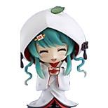 Недорогие -аниме фигуры, вдохновленные вокалоид снег miku pvc cm модель игрушки куклы игрушка