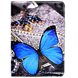 cheap -Case For Apple iPad Air 2 iPad 10.5 iPad mini 4 with Stand Pattern Auto Sleep/Wake Up Full Body Butterfly Hard PU Leather for iPad Pro