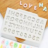 Недорогие -Формы для пирожных Круглый конфеты силикагель День Благодарения Праздник День рождения Новый год