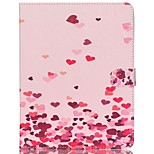 Case For Apple iPad Air 2 iPad mini 4 Card Holder Wallet with Stand Full Body Heart Hard PU Leather for iPad Pro 9.7'' iPad Air 2 iPad