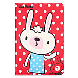 Case For Apple iPad 10.5 iPad (2017) with Stand Flip Pattern Auto Sleep/Wake Up Full Body Cartoon Animal Hard Textile for iPad pro 10.5