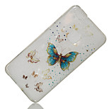 cheap -Case For Huawei P8 Lite (2017) P10 Lite IMD Pattern Back Cover Butterfly Glitter Shine Soft TPU for P10 Lite P8 Lite (2017) Huawei Y6