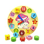 Недорогие -образовательные игрушки игрушки геометрические деревянные дети штук
