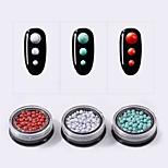 Недорогие -Орнаменты Круглый дизайн Красный (цветовые оттенки могут варьироваться в зависимости от изображения вашего монитора) Зеленый (цветовые