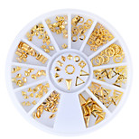 cheap -Ornaments Modern Style Gold Nail Art Design