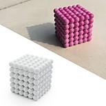 Магнитная игрушка Магнитные шарики 125 Куски Игрушки 3D Глянцевый Цвета меняются Меняет цвета Подарок