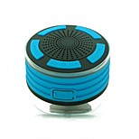 cheap -F013 Speaker Suction Cup Mounts Bluetooth 4.2 Micro USB Subwoofer Light Blue Orange