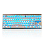 cheap -Ajazz-Ak40  Game Mechanical Keyboard Key Blue Axis Black Axis 87 Key Playerunknown's Battlegrounds Overwatch