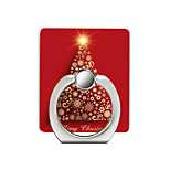 cheap -Christmas Red Tree Pattern Cell Phone Ring Stand Holder for Phone