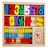 Недорогие -Образовательные игры с карточками Конструкторы Математические игрушки Обучающая игрушка Игрушки Самолет Number Shape Школа/выпускной Для