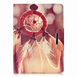 cheap -Case For Apple iPad Air 2 iPad mini 4 Card Holder Wallet with Stand Full Body Feathers Hard PU Leather for iPad 9.7 (2017) iPad Air 2