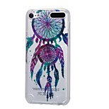 cheap -Case For Apple Ipod Touch5 / 6 Case Cover High Penetrating Powder IMD Colorful Drops of Wind Chimes Soft TPU Phone Case