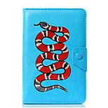 универсальный кожаный подставка для кожи змеи pu для 7-дюймового 8-дюймового 9-дюймового планшета с 10-дюймовым планшетом