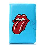 Недорогие -универсальный чехол для губ для печати на кожаном чехле для 7-дюймового 8-дюймового 9-дюймового планшета с 10-дюймовым планшетом