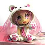 Недорогие -Аниме Фигурки Вдохновлен Вокалоид Sakura Miku 7 См Модель игрушки игрушки куклы