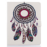 cheap -Case For Apple iPad Air 2 iPad mini 4 Card Holder Wallet with Stand Full Body Dream Catcher Hard PU Leather for iPad Pro 9.7'' iPad Air 2