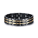 cheap -Men's Chain Bracelet Classic Fashion Stainless Steel Line Jewelry Party Gift