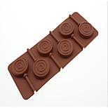 Недорогие -Прямоугольный Шоколад Для торта силикагель Инструмент выпечки Творческая кухня Гаджет