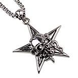 Men's Pendant Necklaces Chain Necklaces Alloy Pendant Necklaces Chain Necklaces , Rock Hiphop Gift Going out