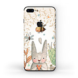 Недорогие -Наклейки для Защита от царапин Матовое стекло Узор PVC iPhone 7 Plus